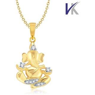 V k jewels mangal murti pendant gold and rhodium plated ps1053g v k jewels mangal murti pendant gold and rhodium plated ps1053g aloadofball Image collections