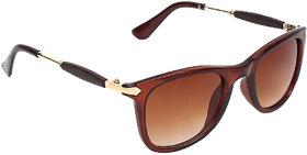 Zyaden Brown UV Protection Full Rim Unisex Sunglasses