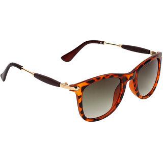 Zyaden Green UV Protection Full Rim Unisex Sunglasses