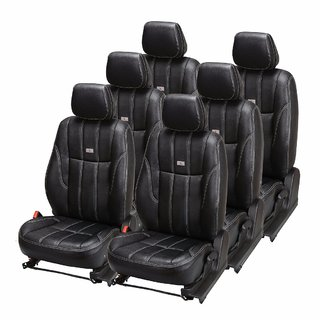 Pegasus Premium PU Leather Car Seat Cover for Toyota Innova