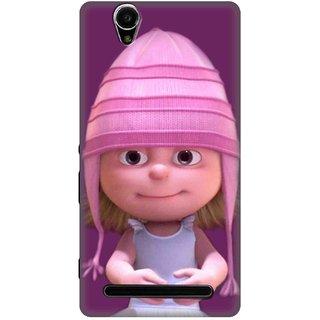 Sony Xperia T2 Ultra Designer back case By SLR  ( SXT2_SLR3DAA_G0050 )