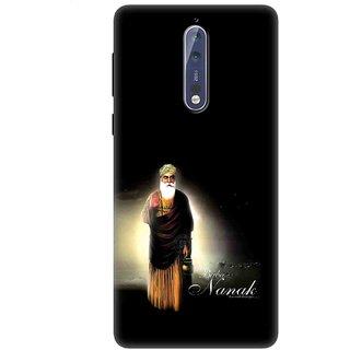 Nokia 8 Designer back case By SLR  ( NK8_SLR3DAA_N0053 )