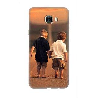 Samsung Galaxy C7 Designer back case By SLR  ( SMC7_SLR3DAA_G0059 )