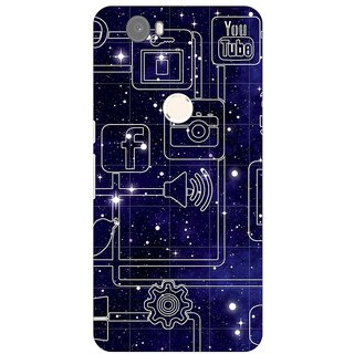 Huawei Nexus 6P Back Cover By G.Store