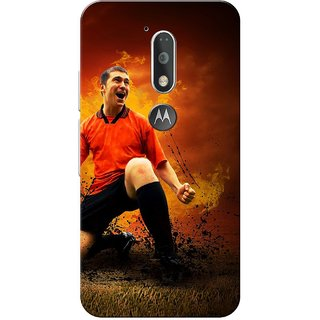 Moto G4 Plus, Player Slim Fit Hard Case Cover/Back Cover for Moto G Plus 4th Gen/Moto G4 Plus