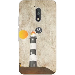 Moto G4 Plus, Lighthouse Kaup Slim Fit Hard Case Cover/Back Cover for Moto G Plus 4th Gen/Moto G4 Plus