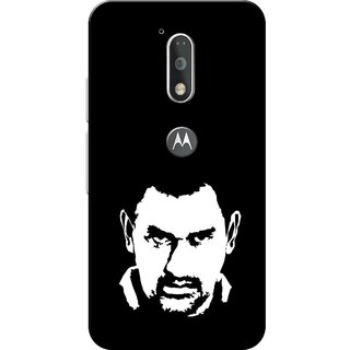 Moto G4 Plus, M.S.D. Face Slim Fit Hard Case Cover/Back Cover for Moto G Plus 4th Gen/Moto G4 Plus