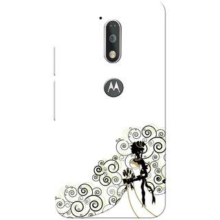 Moto G4 Plus, White Wedding Girl Slim Fit Hard Case Cover/Back Cover for Moto G Plus 4th Gen/Moto G4 Plus