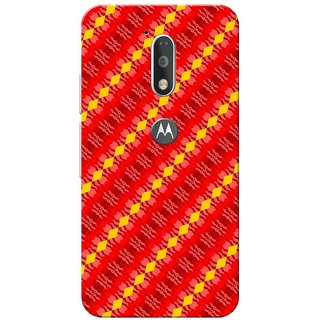 Moto G4 Plus, D.C.S. Pattern Slim Fit Hard Case Cover/Back Cover for Moto G Plus 4th Gen/Moto G4 Plus