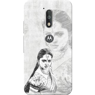 Moto G4 Plus, Devasena Slim Fit Hard Case Cover/Back Cover for Moto G Plus 4th Gen/Moto G4 Plus
