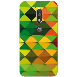 Moto G4 Plus, Multi Color Diamond Slim Fit Hard Case Cover/Back Cover for Moto G Plus 4th Gen/Moto G4 Plus