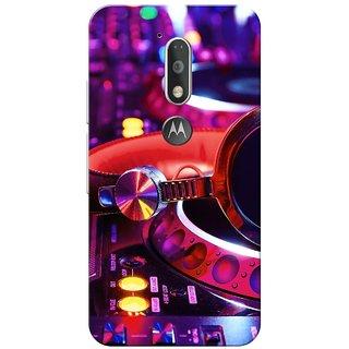 Moto G4 Plus, Music Slim Fit Hard Case Cover/Back Cover for Moto G Plus 4th Gen/Moto G4 Plus
