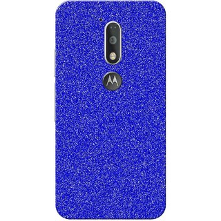 Moto G4 Plus, Blue White Texture Slim Fit Hard Case Cover/Back Cover for Moto G Plus 4th Gen/Moto G4 Plus