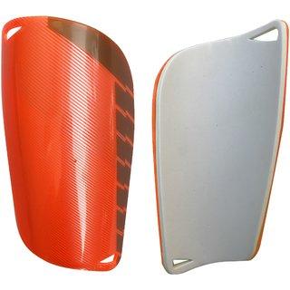 Kobo 6.5 inch Football Shin Guard Orange/Silver