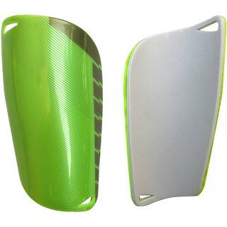 Kobo 7.5 inch Football Shin Guard Green/Silver