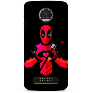 Motorola Moto Z Play Back Cover By G.Store