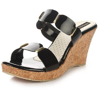 Shofiee Womens Stylish Cork  Trendy Wedges