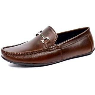 dcad95aaed7 Buy Ostr Men s Formal Genuine Leather Loafer Shoe Online - Get 80% Off