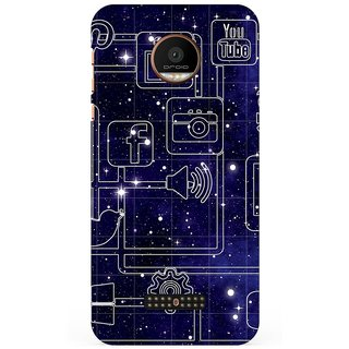 Motorola Moto Z Force Back Cover By G.Store