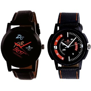 Do Your Best With Orange Smarty Sporty SCK Combo Gallery Wrist Watch