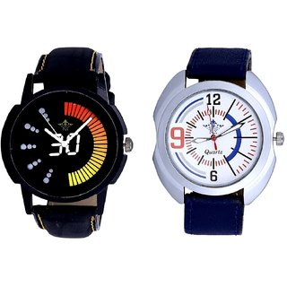 Speed 30 Lightning Class With Extreem Blue Belt Sporty SCK Combo Gallery Wrist Watch