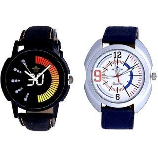 Speed 30 Lightning Class With Extreem Blue Belt Sporty SCK Combo Gallery Wrist Watch
