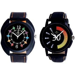 Speed 30 Lightning Class With Ether Chain Digits SCK Combo Gallery Wrist Watch