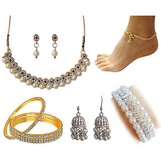 Sparkling Jewellery Special Combo-3