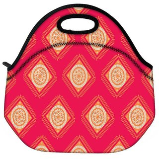 Abstract Rangolies Travel Outdoor Tote Lunch Bag