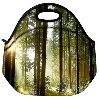 Sunlight Forest Travel Outdoor Tote Lunch Bag