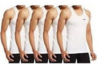 PACK OF 5PC MENS COTTON VEST(SIZE 75 CM,80 CM,85 CM,90 CM)