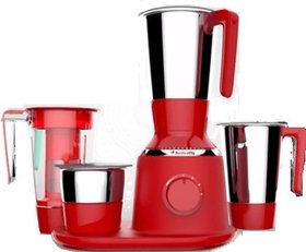 Butterfly Spectra 750-Watt Mixer Grinder with 4 Jars (Red)