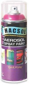 Multi Purpose Lacquer Hacsol Aerosol Paint Spray For Car/Bike-Exclusive Grey GP 16