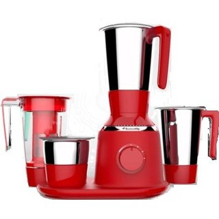 Butterfly Spectra 750-Watt Mixer Grinder with 4 Jars (Red) Juicer Mixer Grinder at shopclues