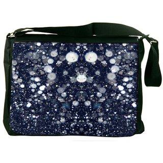 Glitter Night Designer Laptop Messenger Bag