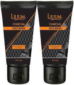 Lilium Charcoal Face Wash Clear Complexion  Skin Perfection.