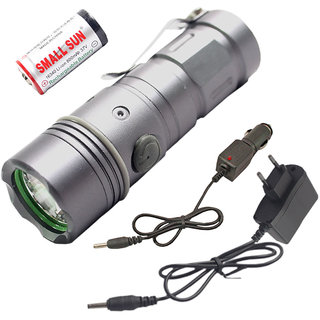 3 Mode Waterproof 5W Mini LED Ultra Bright Flashlight Torch Outdoor Lamp Pocket Torch Light Emergency Lights  Lamps