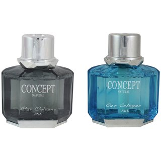 Concept Car Perfume Combo Of  Black70ml   Blue 70ml