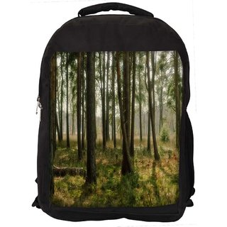 Abstract Trees Digitally Printed Laptop Backpack