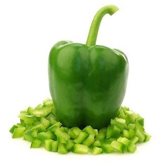 Green Capsicum Seeds, Bell Pepper, Shimla Mirch Seeds Pack of 100 Seeds by AllThatGrows
