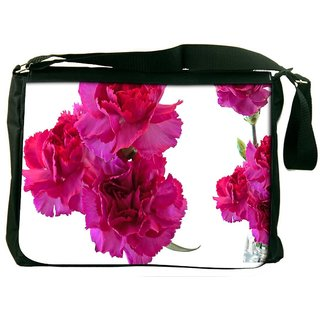 Beautiful Flowers Designer Laptop Messenger Bag