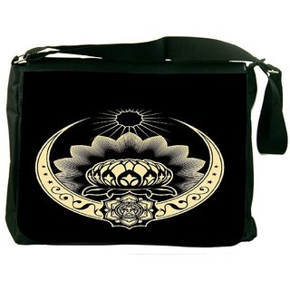 Celtic Logo 2517 Digitally Printed Laptop Messenger  Bag