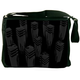 Cool Design Digitally Printed Laptop Messenger  Bag