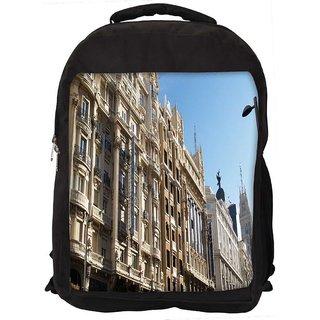 Hotel Atlantico Digitally Printed Laptop Backpack