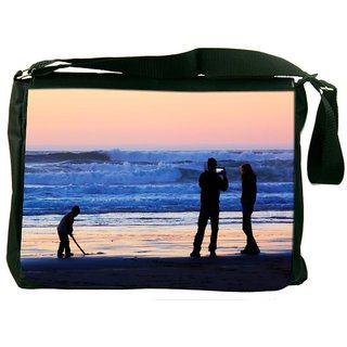 Beach People Designer Laptop Messenger Bag