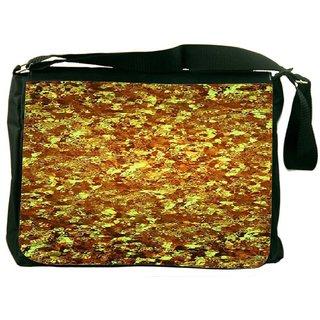 Gold Wave 2441 Digitally Printed Laptop Messenger  Bag