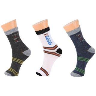 k decorative Pack Of 3 Pair Socks Assorted Colors