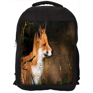 Fox And Wood Digitally Printed Laptop Backpack