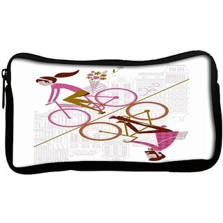 Mirror cycling 2557 Poly Canvas  Multi Utility Travel Pouch