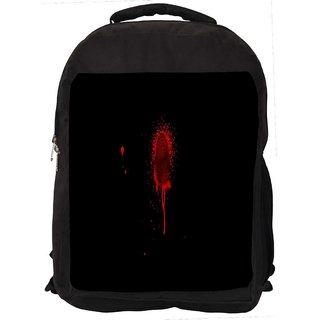 Finger Print Digitally Printed Laptop Backpack